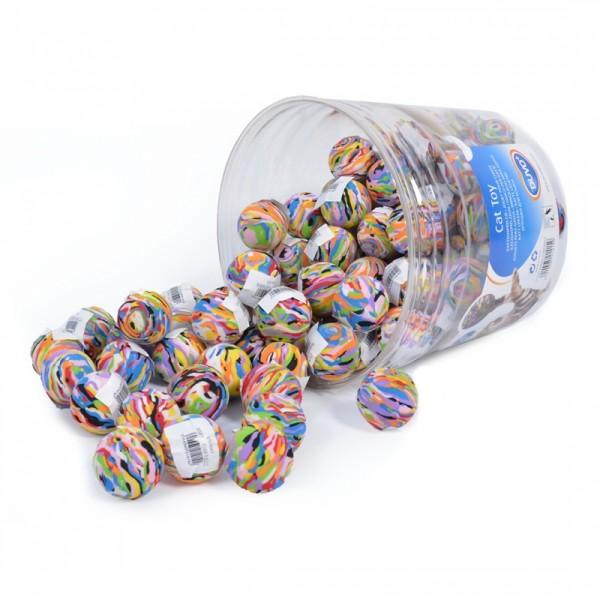 Bunter Schaumstoffball