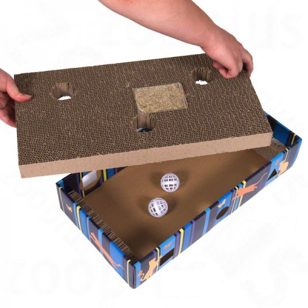 Kratzbox - Kratzen und Spielen